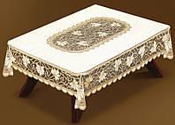 Жаккардовая скатерть 180х130 на прямоугольный стол