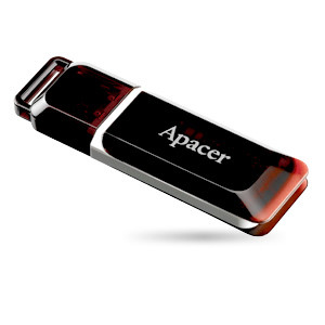 Флешка Apacer AH321 16Gb red