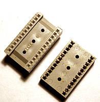 Панелька для микросхем Tesla  DIP 24 (позолота)