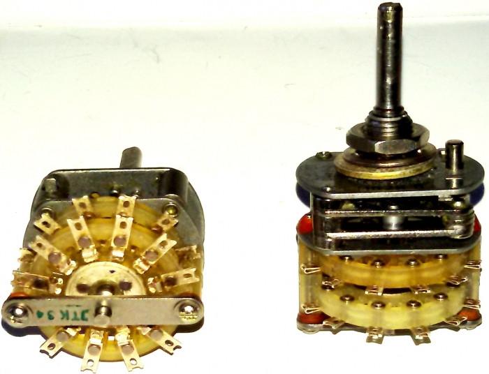 ПГ3-11П2Н Перемикач галетний