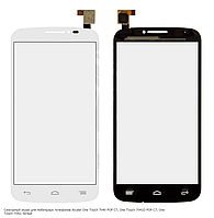 Сенсорный экран для Alcatel One Touch 7040 POP C7, One Touch 7041D POP C7, One Touch 7042, белый
