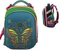 """Ранец SchoolCase """"Butterfly"""" 2 відд, 39*28*21см, Nylon PL, 9625 CLASS"""