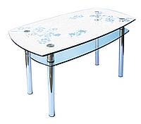 Кухонный стеклянный стол КС2