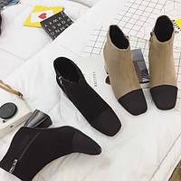 Ботинки ботильоны в стиле Chanel.Реплика