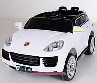 Детский электромобиль джип Porshe T-787 WHITE