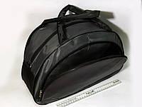 Спортивная женска сумка Adidas, женская фитнес сумка серый  реплика, фото 1