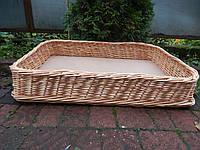 Плетеный лоток из цельной лозы 50*30*10, фото 1
