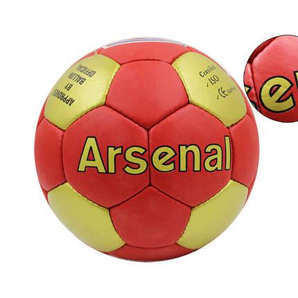 Мяч футбольный ARSENAL №5 PVC FB-0047A-454 , фото 2
