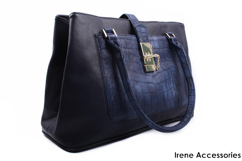 bcf4041c1116 Модельная женская сумка ShengKasiLu цвет синий, эко-кожа - Irene  Accessories в Львовской области