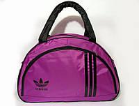 Спортивная женска сумка Adidas, сиреневый   реплика, фото 1