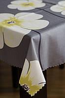 Скатерть тефлоновая 160 см на круглый стол