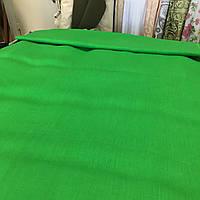 Лён зелёный травяной, ширина 150 см, фото 1