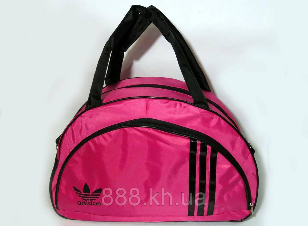 Спортивная женска сумка Adidas, розовый  реплика