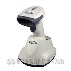 Беспроводной сканер штрихкодов Cino F680 BT RS-232 серый, фото 3