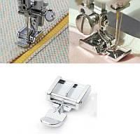 Лапка для пришивания молнии для бытовых швейных машин