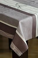 Скатерть с тефлоновым покрытием 160 см на круглый стол