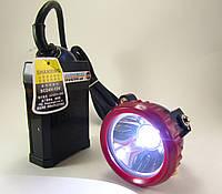 Налобный фонарь Коногонка шахтерская Shanxing SX - 0019