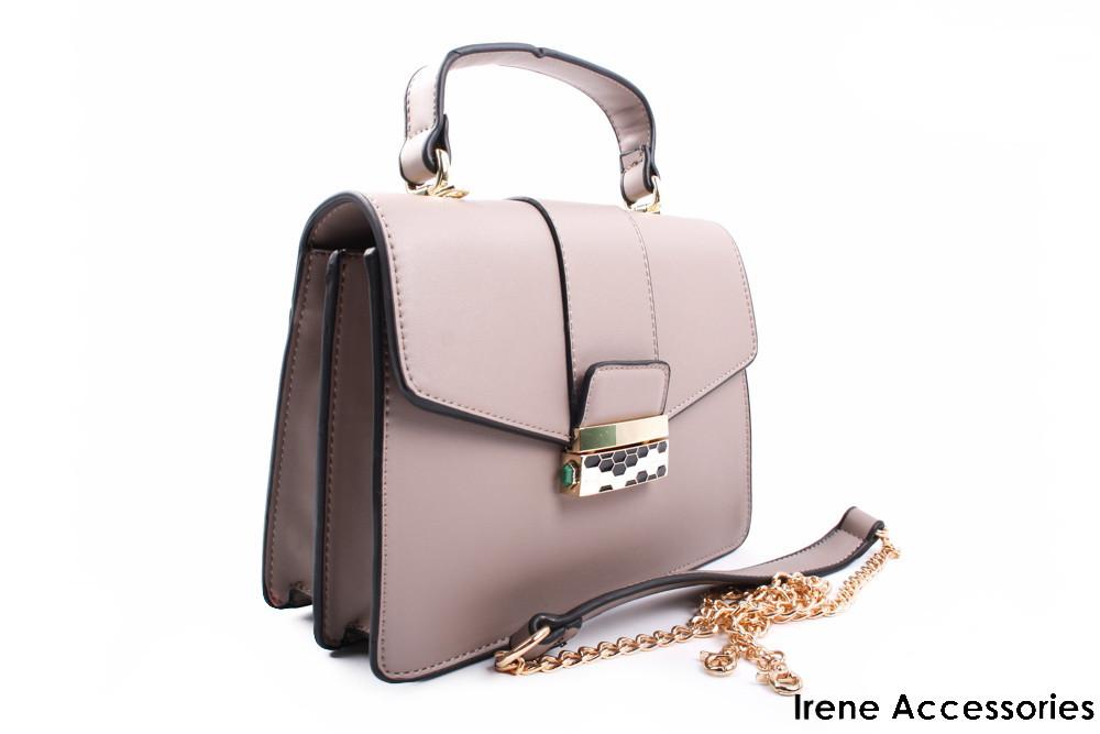 Элегантная женская сумочка Mann Kelly цвет визион, эко-кожа