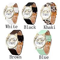 Стильные оригинальные  женские часы CAT ,5 цветов