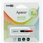 Флешка Apacer AH326 8Gb white, фото 3