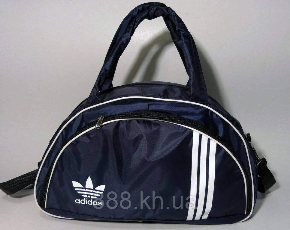 Спортивная женска сумка Adidas, темно-синий  реплика
