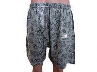 Трусы мужские боксерки шорты серо-черные EZGI размер 54 (10)