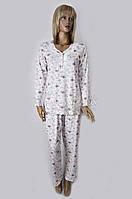 """Модная женская пижама с кружевом """"Ribana"""" Angelina №10386, фото 1"""