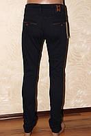 Повседневные мужские темные джинсы REDMAN