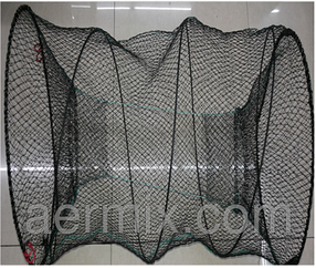Вентерь круглый 30*60 см, ятерь для рыбалки, снасть для ловли раков/рыбы, сетка рыбацкая, раколовка