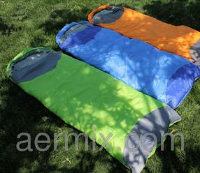 Cпальный мешок маленький, компактный спальник летний, туристический мешок, спальный мешок туристический