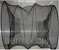 Вентерь рыболовный круглый 40*80 см, рыболовная снасть вентерь, ятерь для рыбалки, снасть для ловли раков/рыбы
