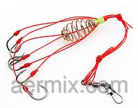 """Рыболовная кормушка """"Пустышка"""" №2, кормушка пустышка пружинная, кормушка для летней рыбалки"""