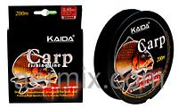 Леска CARP KAIDA YX-404-40, крепкая леска для рыбалки, леска для удочки, леска рыболовная 200 метров