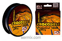 Леска CROCODELI YX-306-22, леска рыболовная крокодил, леска для рыбалки 100 метров, спиннинговая леска