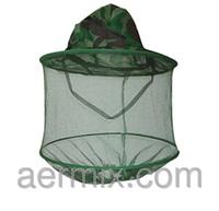 Шапка от комаров, шляпа с противомоскитной сеткой, шапка с сеткой от комаров, сетка накомарник, рыбацкая шляпа