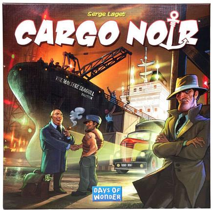 Настольная игра Cargo Noir (Контрабандисты, Черный Груз), фото 2