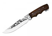 Нож охотничий Егерь, с кожаным чехлом в комплекте