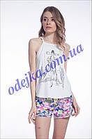 Домашний комплект, пижама женская LNP 078/001 (ELLEN). Коллекция весна-лето 2017! Спешите быть первыми!