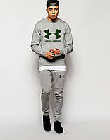 Спортивный костюм Under Armour, мужской, серый