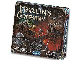 Настольная игра Shadows over Camelot: Merlin's Company (Тени над Камелотом: компания Мерлина)