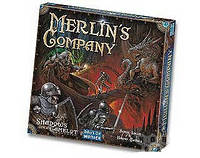 Настольная игра Shadows over Camelot: Merlin's Company (Тени над Камелотом: компания Мерлина)