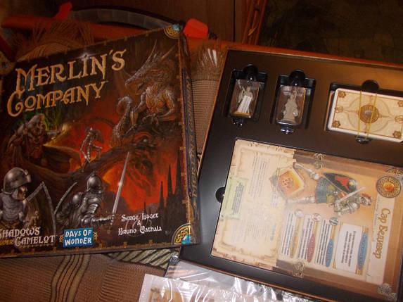 Настольная игра Shadows over Camelot: Merlin's Company (Тени над Камелотом: компания Мерлина), фото 2