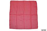 Однотонный малиновый шифоновый платок, фото 2