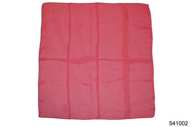 Однотонный малиновый легкий шифоновый платок 2