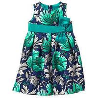 Платье праздничное на девочку 2 года Emerald Floral Gymboree (США)