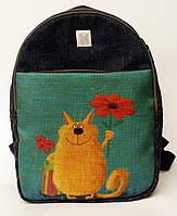 Джинсовый рюкзак с днем рождения, фото 1