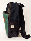 Джинсовый рюкзак с днем рождения, фото 3