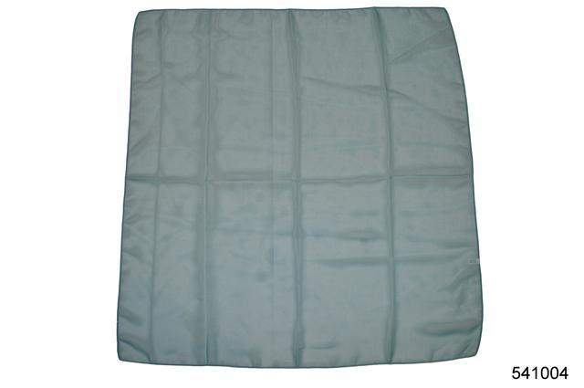 Однотонный темно-бирюзовый легкий шифоновый платок 2