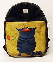 Джинсовый рюкзак давай знакомиться