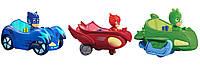Игровой набор PJ Masks Кэтбой, Гекко, Амайя на автомобилях (Пи-Джей Маски) , фото 1